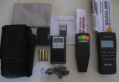 FM/AM SB7 Spirit Box + MEL METER + K2 EMF + MORE! Ghost Hunting Equipment Kit