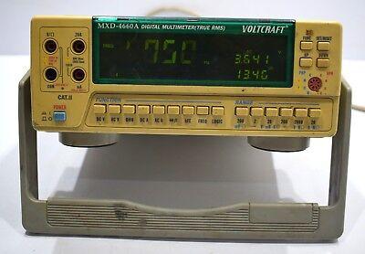 Voltcraft Mxd-4660a Digital Laboratory Multimeter True Rms