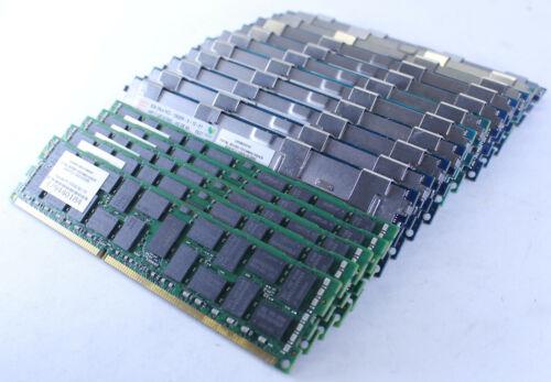 Lot of 16 Hynix 8 GB DDR3 1333 MHz, PC3 – 10600R ECC Registered 240-pin RDIMM