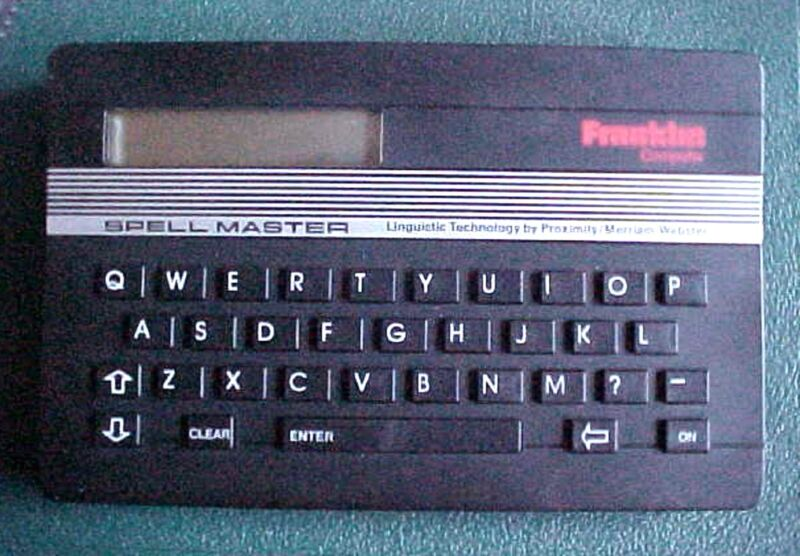 Franklin Computer SPELL MASTER SA-103