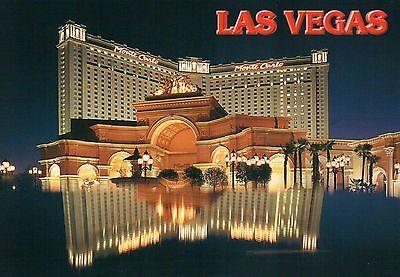 Monte Carlo Resort, Hotel Casino, Las Vegas, Nevada, on the Strip, LV - (Monte Carlo Hotel Casino Las Vegas Nevada)