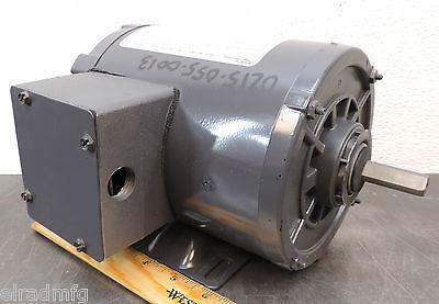 Dayton 3n349bd Electric Motor 14 Hp 3 Ph 1725 Rpm 208-230460 Used
