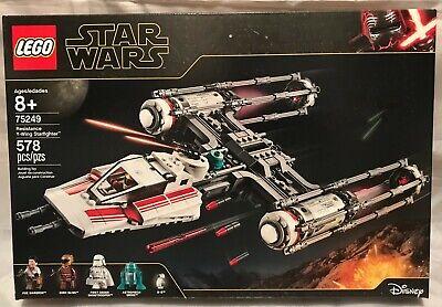 NIB Lego Star Wars 75249 Resistance Y-wing Star Fighter Poe Dameron Droid