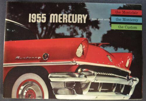 1955 Mercury Folder Montclair Monterey Wagon Excellent Original 55 Not a Reprint