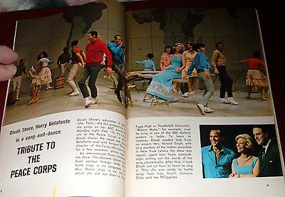 1965 DETROIT TV GUIDE~ANDY WILLIAMS~JIM BACKUS~PEACE CORPS SARGENT SHRIVER