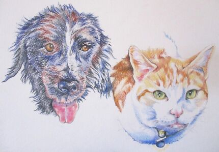 Custom Pet Portraits for christmas
