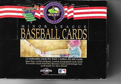 (2) 1992 Classic Best Wax Packs - Ryan, Griffey