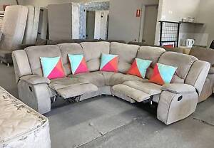 DELIVERY TODAY EXTREMELY COMFORT L RECLINER corner sofa SALE NOW Belmont Belmont Area Preview