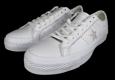 Converse Cons One Star Ox Low Top Sneakers Leather  Lunarlon Sole 155547C
