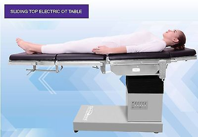 SLIDING TOP ELECTRIC OT TABLE WITH AUTO FLOOR LOCKING SUITABLE FOR ALLSURGERY  S