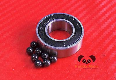 2pc 689-2rs 9x17x5 Mm Hybrid Ceramic Ball Bearing Bearings 689rs 9175 689