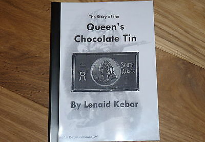 Queen Victoria Chocolate Gift Tin Booklet Boer War Book Christmas New Year 1900