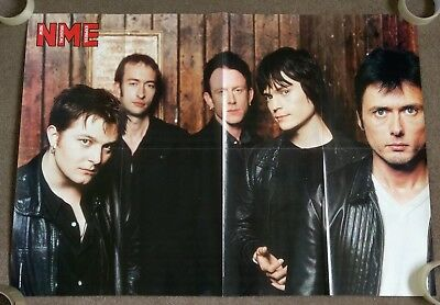Suede VERY RARE 1999 Double Sided NME Head Music Poster 85cm x 59cm