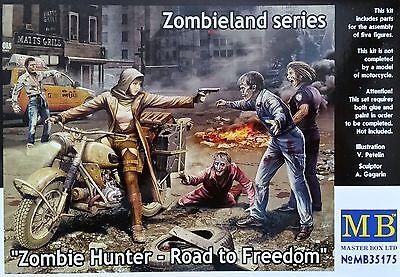 MASTER BOX™ 35175 Zombie Hunter - Road to Freedom FIGUREN in 1:35