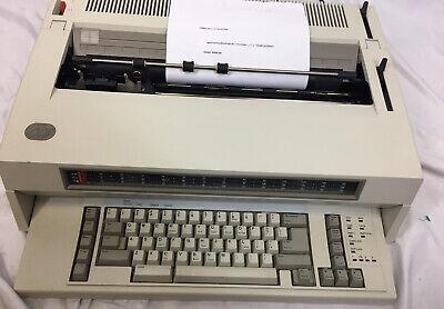 Ibm Wheelwriter 10 Series Ii Typewriter - Clean Tested