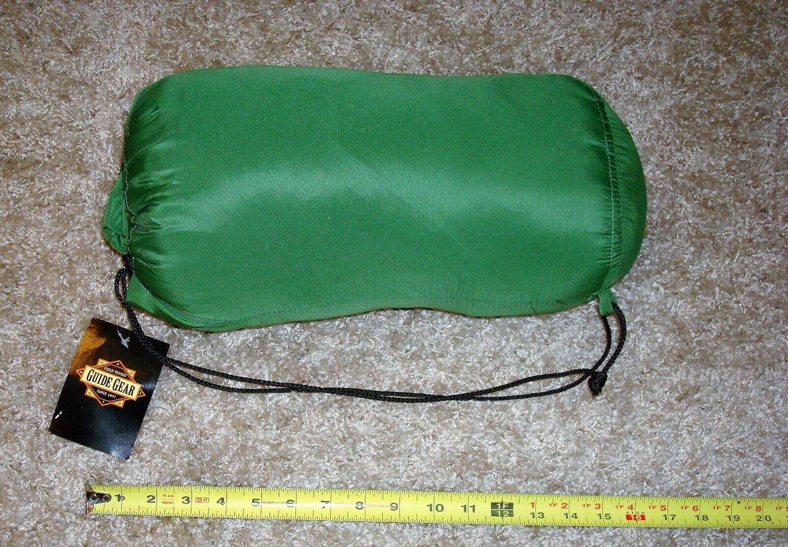 Twin Air Mattress Fitted Sheet & Blanket By Guide Gear Stays