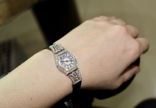 Vintage Diamonds Ladies Watch