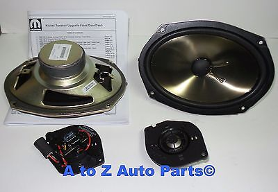 NEW 2010-2018 Dodge RAM Express, Tradesman Front Kicker Speaker Upgrade Kit,OEM