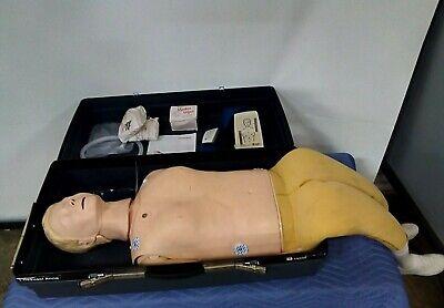 Laerdal Resusci Anne Manikin Airway Cpr Emt Infant Nursing Patient Training Set