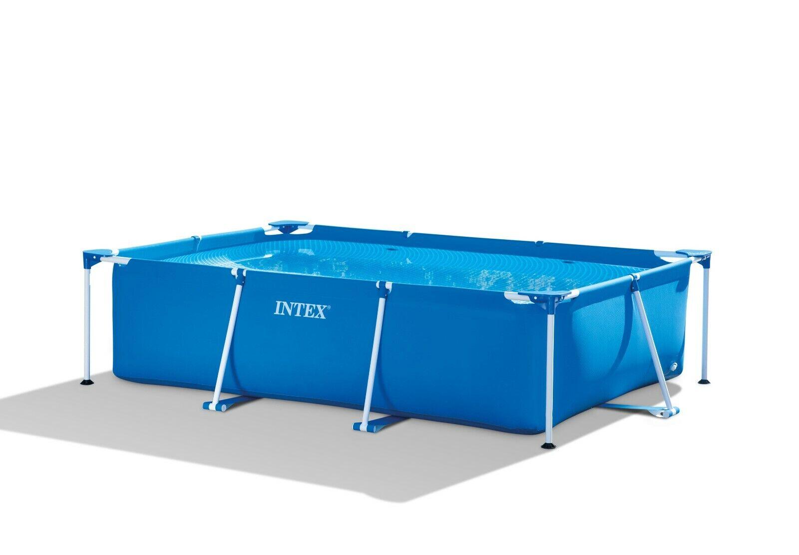 Framepool 260x160x65 rechteckig Pool Schwimmbecken Swimmingpool Intex 28271