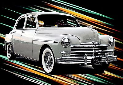 1949 Plymouth DELUXE SEDAN 1949 PLYMOUTH DELUXE SEDAN WITH 64,000 MILES THREE OWNERS SUPER NICE!!
