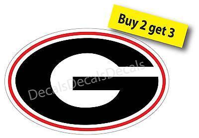 University of Georgia Bulldogs G Sticker Decal NCAA Sports FREE SHIP G1