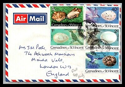 GP GOLDPATH: ST VINCENT & THE GRENADINES COVER 1979 AIR MAIL _CV676_P22