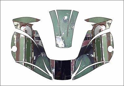 Miller Digital Elite 257213 Tatinium Welding Helmet Wrap Decal Sticker Boba Fett