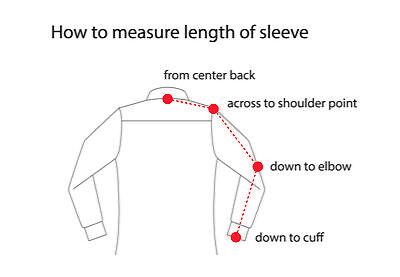 tips to measure sleeve length on a shirt ebay