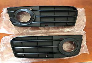 OEM Fog Light Covers - Audi A4/A5 2009-12