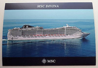 Ms Msc Divina   Mediterranean Shipping Co   Italy Cruise Ship Boat Sophia Italia