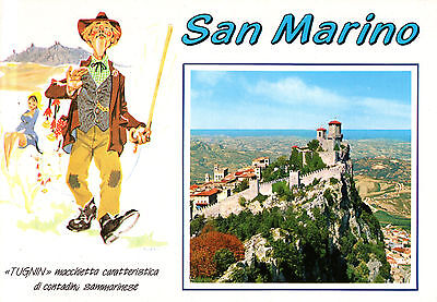 San Marino  -  Prima Torre - der 1.Turm des Monte Titano - UNESCO-Weltkulturerbe