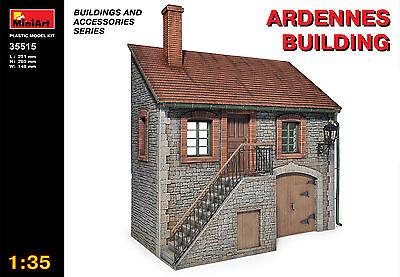 MINIART #35515 Ardennes Building für Diorama in 1:35
