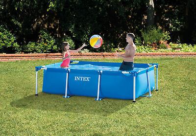 Frameset Swimming Pool Rectangle 2.6m x 1.6m 65cm Deep 603 Gallons Intex 28271NP