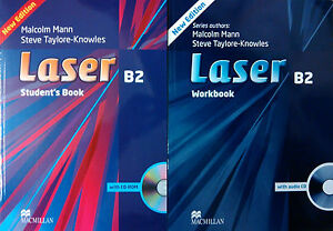 LASER B2 : Student's Book + Workbook + CD