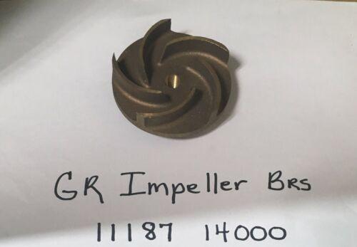 11187 14000 GORMAN RUPP IMPELLER