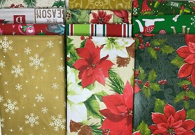 Christmas Thanksgiving Vinyl Cloth Backed Tablecloths Round Oblong Square