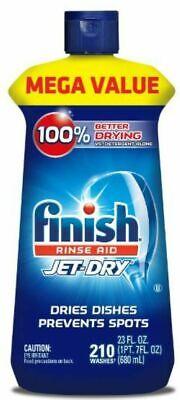 Finish Jet-Dry Rinse Aid, Dishwasher Rinse Agent - Drying Agent 8.45 oz.NEW