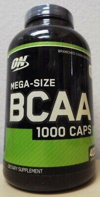 ON Optimum Nutrition BCAA 1000 Caps Dietary Supplement - 400 Capsules