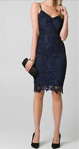 Le chateau beautiful dark navy dress