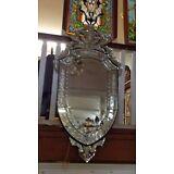 """Ruby Venetian Mirror Large 48"""""""
