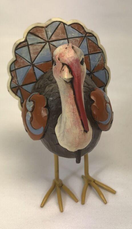 Jim Shore Heartwood Creek 4027807 Mini Turkey