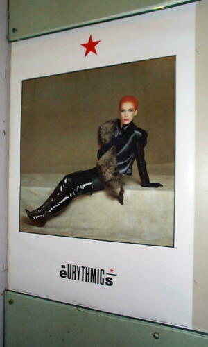ANNIE LENNOX Eurythmics 1983 Poster LAST ONE