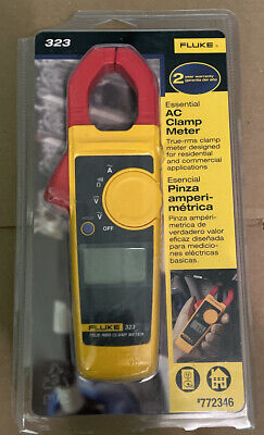 Fluke 323 Essential Ac Clamp Meter 772346 New Free Shipping