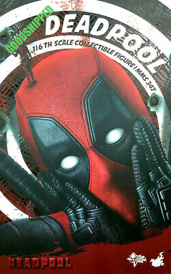 READY HOT TOYS DEADPOOL WADE WILSON RYAN REYNOLDS MMS347 1/6 NEW MISB RARE