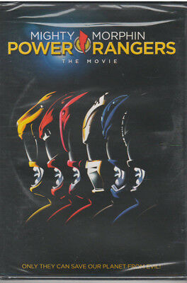 MIGHTY MORPHIN POWER RANGERS THE MOVIE (DVD, 2011) NEW