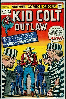 Marvel Comics KID COLT Outlaw #198 FN 6.0