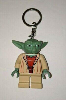 LEGO Star Wars Yoda Mini Figure Flash Light Keychain Lite