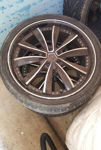 "4x 20"" RIMS AND TYRES Kings Park Blacktown Area Preview"