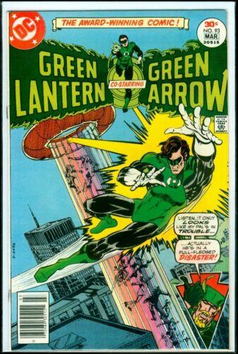 DC Comics GREEN LANTERN #93 Green Arrow VFN 8.0